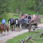 Our all inclusive ranch vacation includes wagon rides