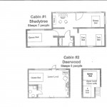 Cabin 1 and 2 diagram