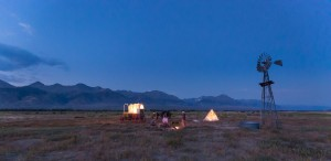 Stoecklein Image camping on prairie