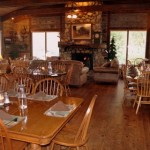 Bed and Breakfast Dining in het Vee Bar Ranch Dining Room