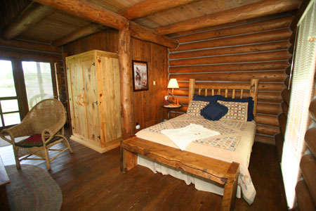 Cabin 2 Main Bed