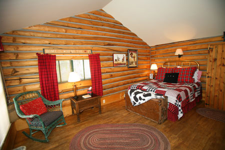 Cabin 1 Bedroom 2