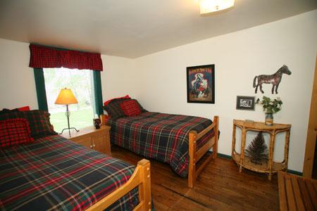 Cabina 1 dormitorio con dos camas